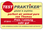 Zertifikat Perfect Air Animal Pure